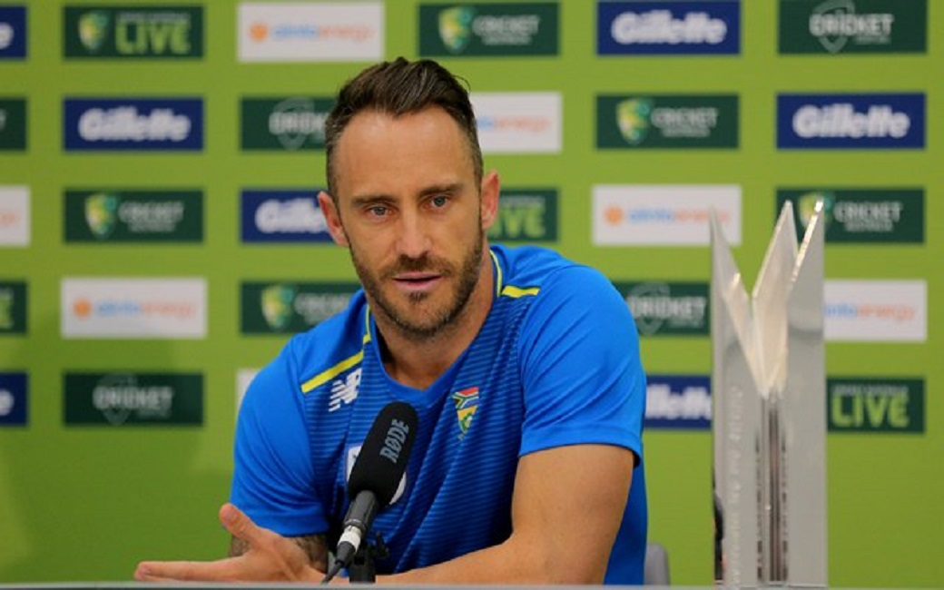 Faf du Plessis retires from tests to focus on T20 World Cups