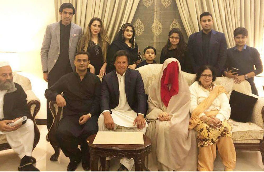 'Hat-trick at 65': Imran Khan marries for the third time