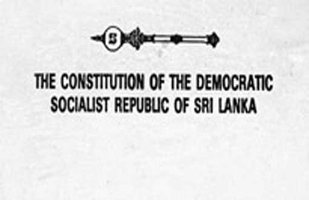 Constitutional reform in Sri Lanka