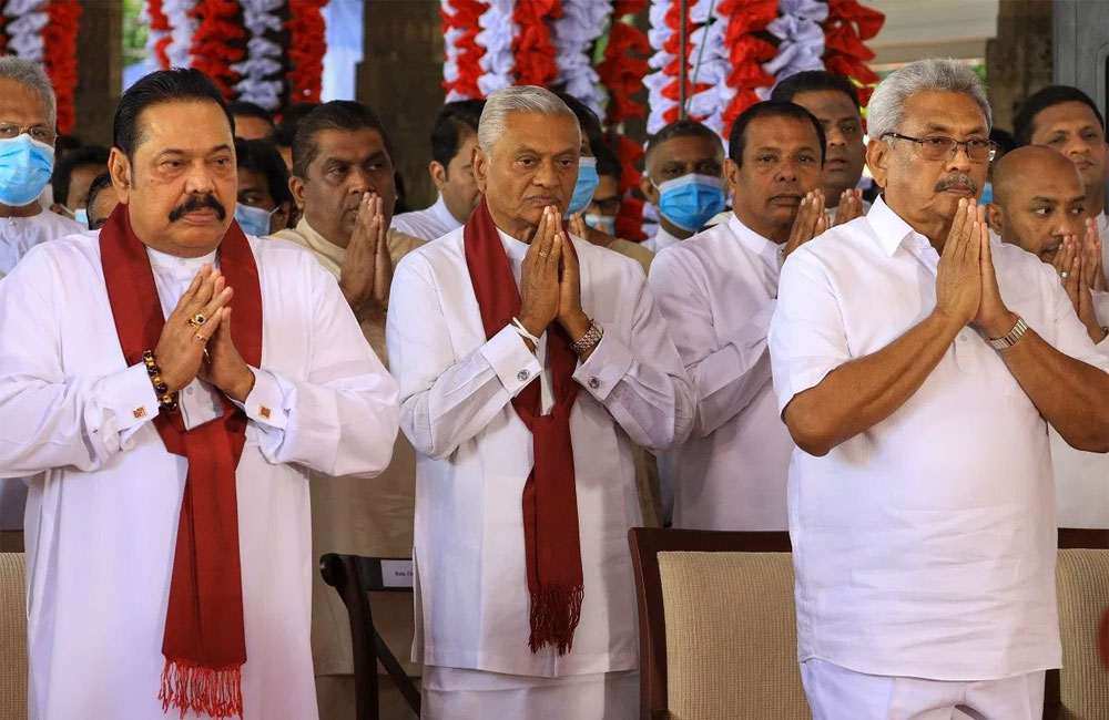 Rajapaksa's stranglehold choking Sri Lankan democracy