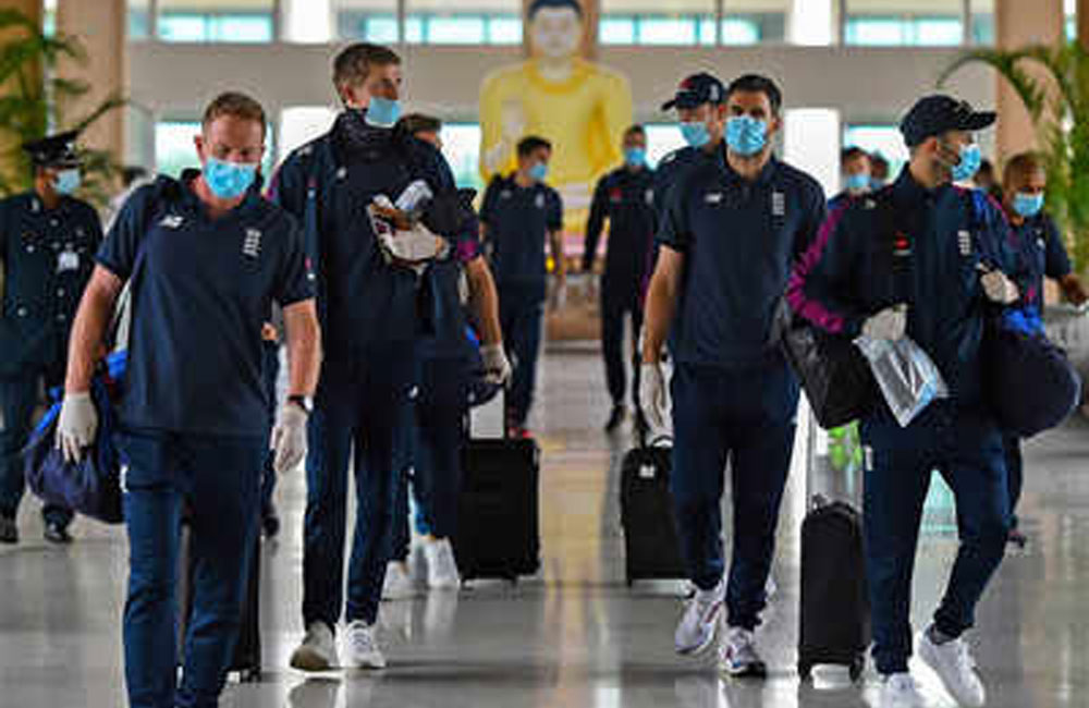 Covid-19 outbreak at England's team hotel